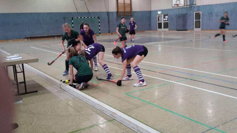 Sieg und Unentschieden zum 4. Advent in der Oberliga Mädchen A