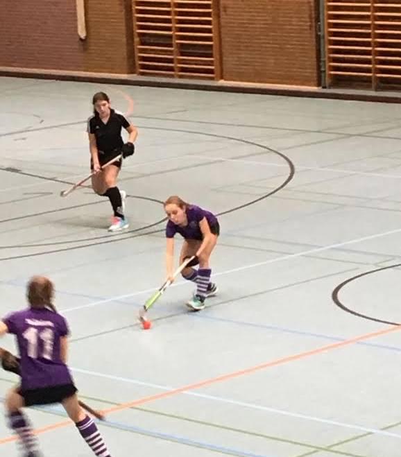 Mädchen A2 mit zwei Niederlagen ins neue Jahr gestartet