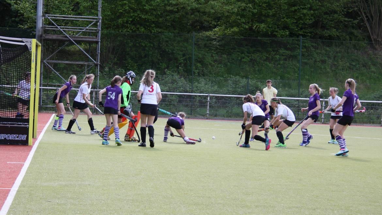 Verdiente Niederlage der Mädchen A in Wuppertal
