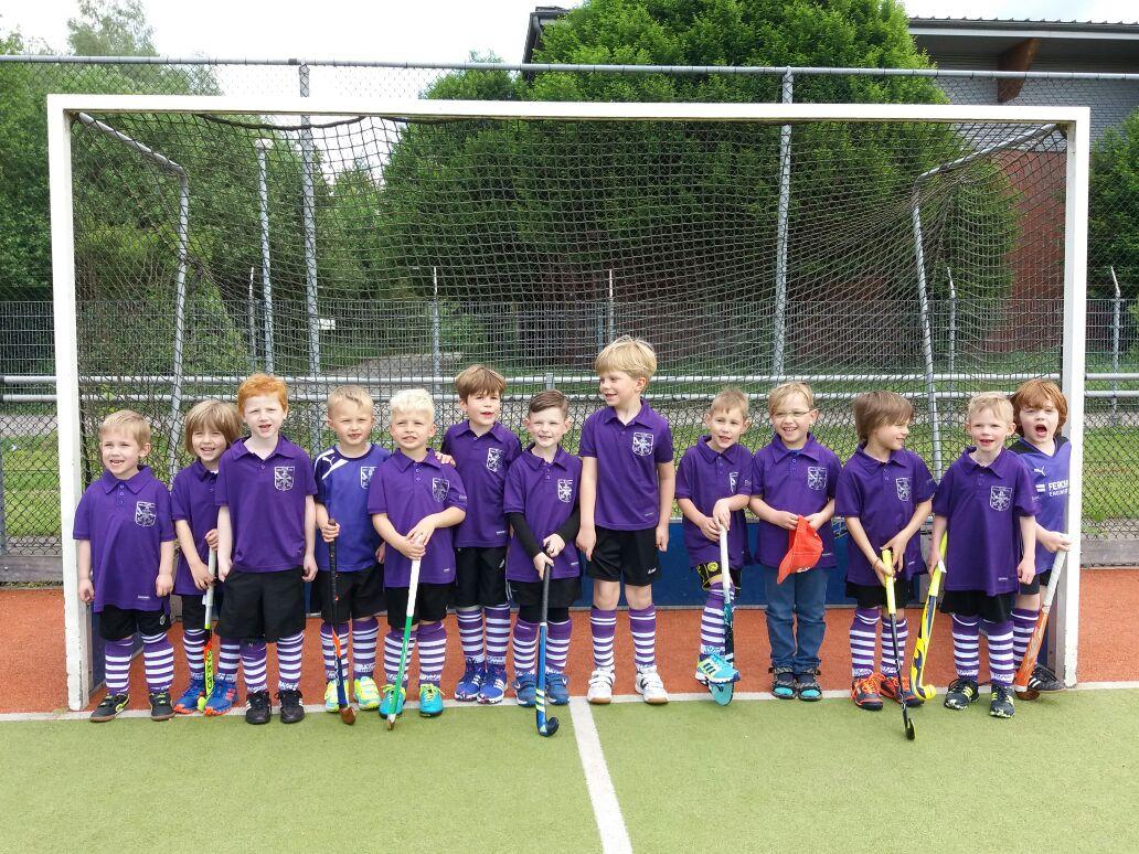 erstes Turnier der Mini Jungen 2011/2012
