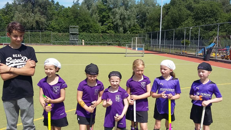 Mädchen D2: Toller Spieltag in Hiesfeld