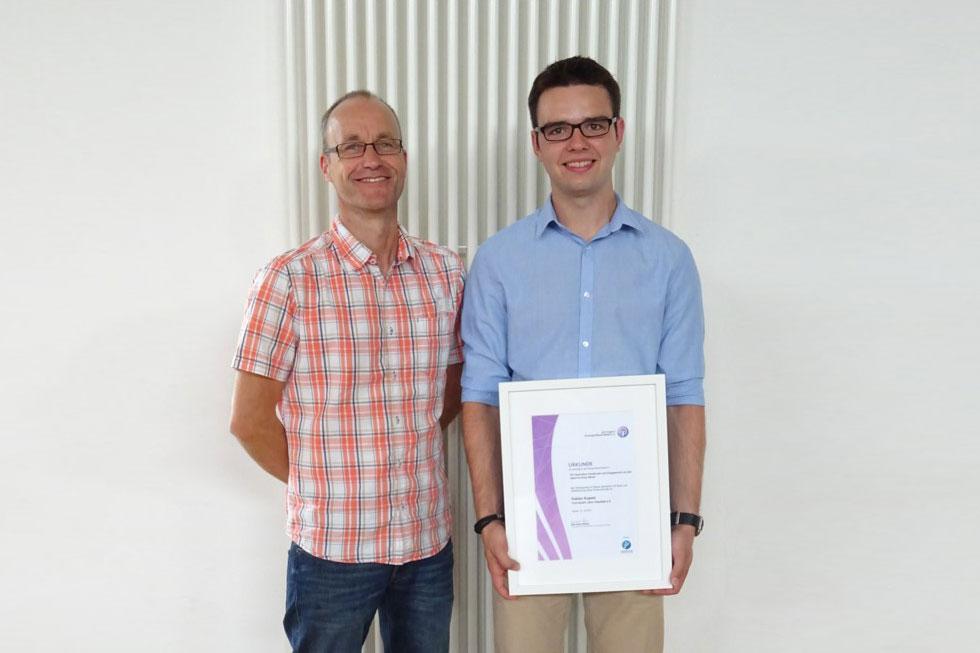 Fabian Kupetz: Junges Ehrenamt 2017
