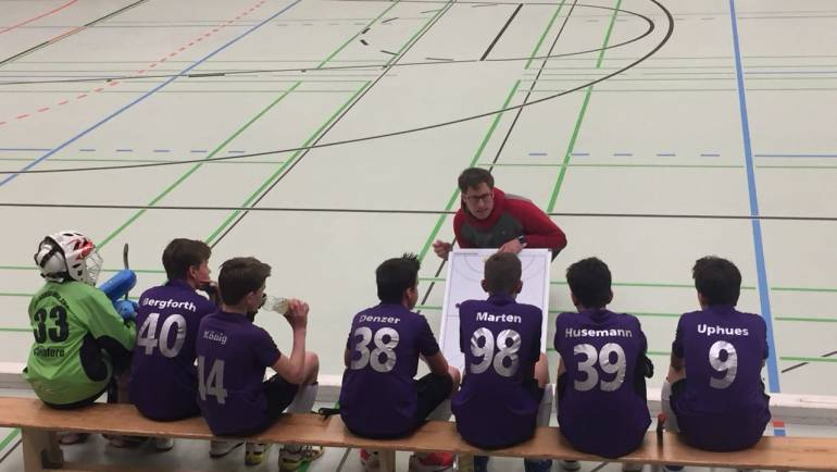 Oberliga Knaben A2 in Bestform