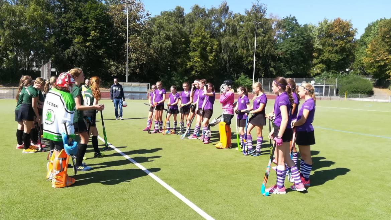 A2 Mädchen erreichen Viertelfinale in der Verbandsliga