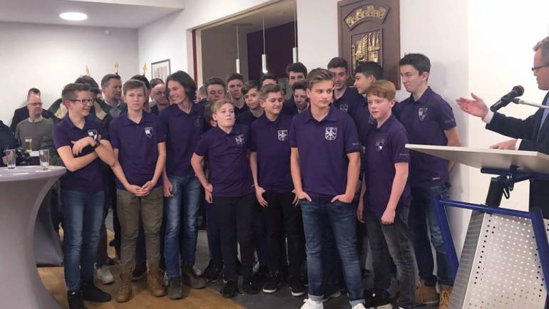 Dinslaken ehrt seine jungen Sporttalente