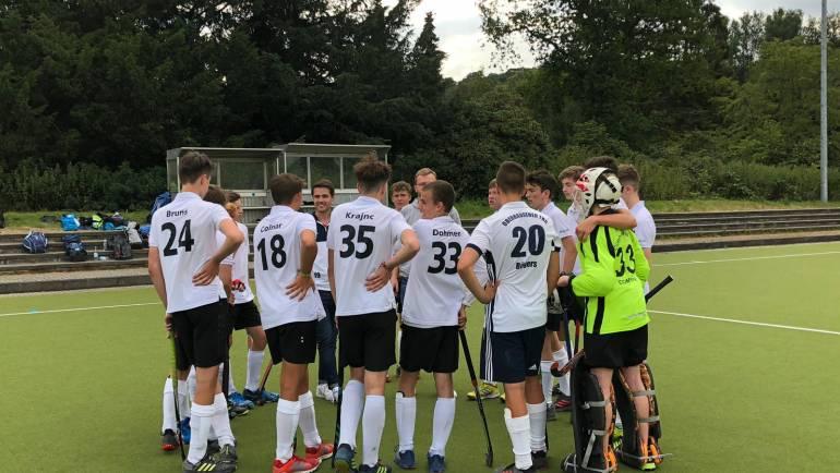MJB Oberliga, 4.Sieg im 4.Spiel
