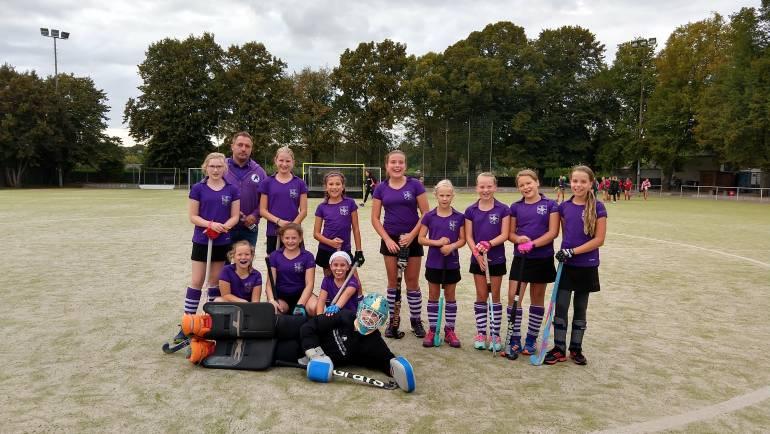 Versöhnliches Saisonende für die B2- Mädchen – 2:0 Sieg gegen Preußen Duisburg 2