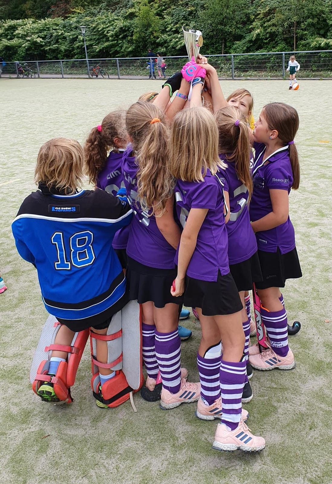 Mädchen D holen 2. Platz bei Revierkraft Trophy