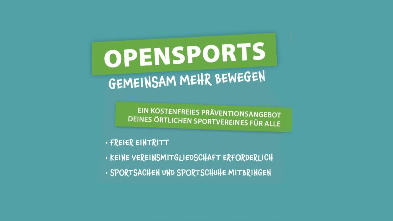 """Der Kreissportbund Wesel lädt zur Initiative """"OPENSPORTS"""" ein"""